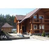 >Продам деревянный дом из оцилиндрованного бревна