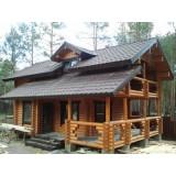 >Продам дом-сруб в коттеджном поселке в сосновом лесу