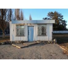 >В оживленном населенном пункте, в 20 км. от Харькова продам торговый павильон