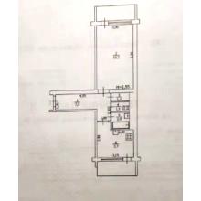 >1 ком. квартира на 1 этаже, угловая с 2 балконами